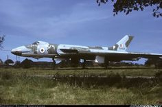 This photograph shows Avro Vulcan on the fire dump at RAF Manston in Kent during the Uk Navy, Royal Navy, Military Jets, Military Aircraft, Vickers Valiant, Military Archives, V Force, Old Warrior, Avro Vulcan
