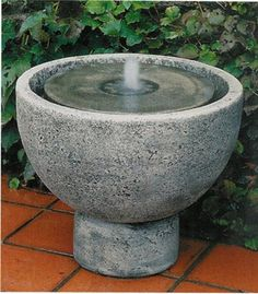 Charmant Small Self Contained Fountain Pot For My Patio · Indoor Water FountainsGarden  ...