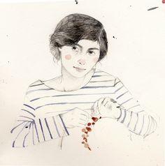 Clare Owen illustration, coco sketchbook.
