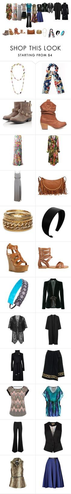 The Bohemian: Capsule Wardrobe Essentials by stylierge on Polyvore featuring Philipp Plein, Miss Selfridge, Warehouse, Topshop, Ted Baker, Alexander McQueen, ONLY, Bouchra Jarrar, Vionnet and H&M