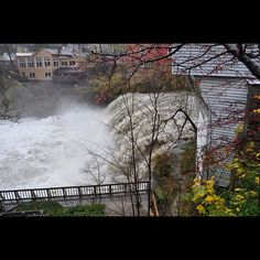 #Chagrin Falls doing what falls do!