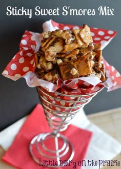 All the yumminess of smores without the fire! Make lots! It won't last long! www.littledairyon...