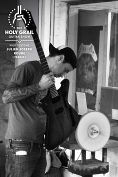 Exhibitor at The Holy Grail Guitar Show 2014: Julien Joseph Roure, Wild Customs, France  http://www.wildcustomguitars.com https://www.facebook.com/pages/Wild-Customs/162008543823627 http://holygrailguitarshow.com