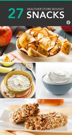 27 Healthier Store-Bought Snacks (Under 150 Calories) Eating healthy while on the go isn't just a pipe dream if you grab one of these bites. Healthy Store Bought Snacks, Healthy Snacks For Diabetics, Healthy Meals For Two, Health Snacks, Healthy Eating, Healthy Food, Healthy Skin, Lunch Snacks, Scooby Snacks