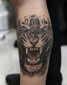 tiger portrait tattoo on sleeve - 55 Awesome Tiger Tattoo Designs Tiger Forearm Tattoo, Mens Tiger Tattoo, Tiger Tattoo Sleeve, Tiger Tattoo Design, Forearm Tattoo Design, Tattoo On, Cover Tattoo, Lion Tattoo, Sleeve Tattoos