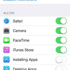 iPhone hack - Turn off all in app purchases with one button - This is especially useful if you have kids, or have zero self-control when it comes to Candy Crush. Go to Settings > General > Restrictions, Enable Restrictions, and scroll down to disable In-A Iphone 6, Apple Iphone, Iphone Codes, Iphone Information, Iphone Secrets, Iphone Life Hacks, Ipad Hacks, Iphone Accessories, Apple Products