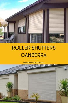 If you're looking to replace double glazing and security grilles with a single product, then roller shutters in Canberra are the perfect match to any home. Modern Shutters, Modern Blinds, Modern Windows, Modern Window Treatments, Sliding Door Window Treatments, Sliding Doors, Roller Shutters, Window Shutters, Room Window