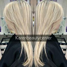 Reflexo louro ultra claro by Karen Beauty  Center