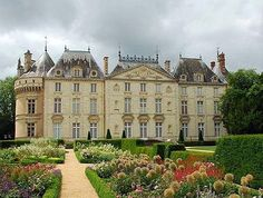 CHÂTEAU DU LUDE ~ Lude, a magnificent château in the Loire Valley, in the Sarthe region if France.