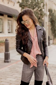 Closet Staple: Bernardo Leather Jacket
