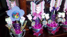 Vasos decorados para prateleiras