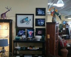 These beautiful pieces are mine are now on display at Santa Fe fine consign