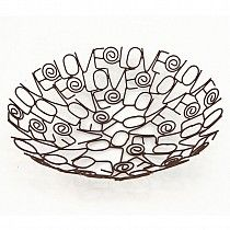 I love this wire bowl because it is very different, instead of creating the bowl using just simple lines, they have created it using words, i think it is very unique.