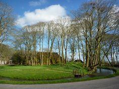 Rasquert, boerderij Meima met park in landschapsstijl