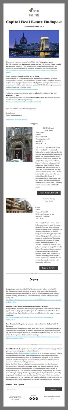 Mile Estate Agents Newsletter Makes A Big Play Of Their Selling