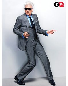 How to Wear Gray Suits Ted Danson Insist On The Vest  We should all own at least one three-piece suit. They're as classic as they are versatile—because remember, you don't always have to wear the vest.
