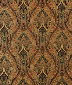 Shop Waverly Karaj Paisley Onyx Fabric at onlinefabricstore.net for $16.87/ Yard. Best Price & Service.