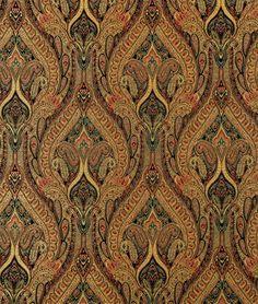 Shop Waverly Karaj Paisley Onyx Fabric at onlinefabricstore.net for $16.87/ Yard. Best Price & Service.
