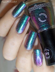 Milky Way - Dance Legend [swatch] #nailblogger #prettycolor #mani #nails - bellashoot.com