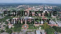 Cool view of FSU in Tallahassee, Florida