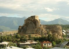 Surami Castle - Georgia The legend tells a story a young man build into the castle's walls to preserve them.