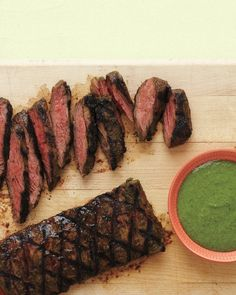 Grilled Pepper-Crusted Sirloin | Recipe | Grilled Peppers, Cutting ...