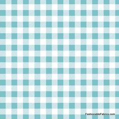 Fabric... Polka Dot Stitches Gingham in Blue by Riley Blake Designs