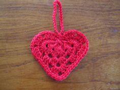 Grandma Hearts: free #crochet #heart #pattern