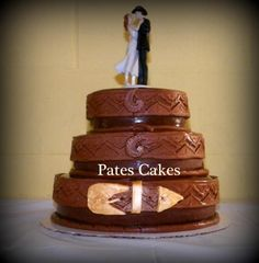 cool idea... wedding cake