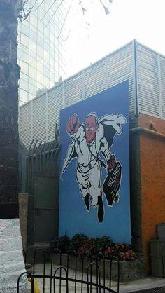Curiosidades de Caracas....Mural en El Rosal