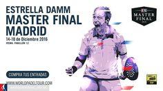 Ya a la venta las entradas para el @estrelladamm Master Final de Madrid en la web de @worldpadeltour_oficial .  #padel #instapadel #worldpadeltour #padeladdict