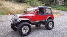 1984 Jeep CJ-7 Convertible SUV 1JCUM87A5ET122179 - OwnersList.Net