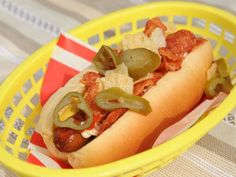 Get Mexican Style Hot Dog Recipe from Food Network