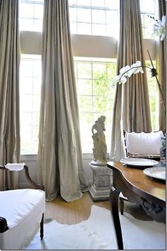 long living room curtains small modern country ideas 8 best window treatments images dressings a house romance joni webb talks cote de texas silk drapes