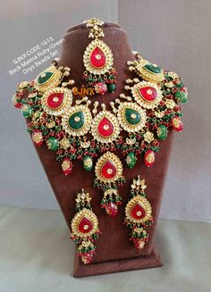 Indian Jewelry Earrings, Headpiece Jewelry, Fancy Jewellery, Beaded Jewelry, Diamond Jewelry, Jewelery, Bridal Bangles, Bridal Jewelry Sets, Wedding Jewelry