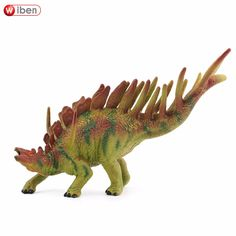 Wiben Jurassic Kentrosaurus Dinosaur Toys  Action Figure Animal Model Collection Learning & Educational Kids Gift Classic Toy
