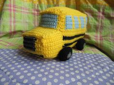 School Bus Crochet PATTERN