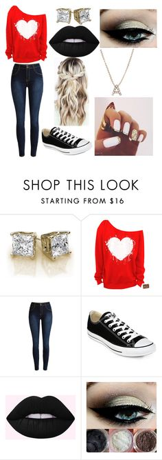 """""""Back to school 🔥💯"""" by beefyrondan ❤ liked on Polyvore featuring Converse and Bony Levy"""