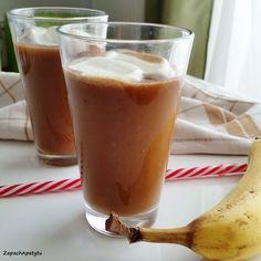 Banana frappuccino #zapachapetytu #banana #frappuccino Frappuccino, Beer, Banana, Mugs, Breakfast, Tableware, Root Beer, Morning Coffee, Ale