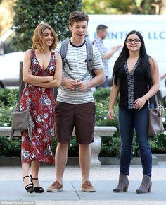 Modern Family fun: Sarah Hyland, Nolan Gould and Ariel Winter got off to a…