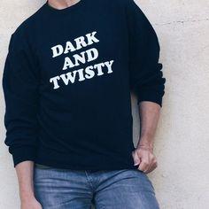 Dark and Twisty Grey's Anatomy Unisex Sweatshirt Sweater Hoodie, Crew Neck Sweatshirt, Graphic Sweatshirt, T Shirt, Greys Anatomy Shirts, Grays Anatomy, Grey's Anatomy Clothes, Dark And Twisty, Great Tv Shows