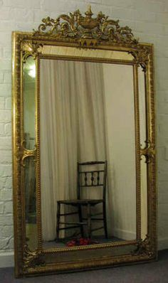The Bottom of the Ironing Basket: Antique.French.Mirrors.