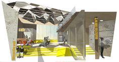 [DJCAD] Duncan of Jordanstone College of Art & Design, University of Dundee, Scotland. BDes [Hons] Interior & Environmental Design Final year Degree Show 2014 natalie-houtioudi | Biomimicry Education Centre