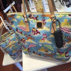 """Runway Princess"" and ""Beach"" Disney Dooney and Bourke Bags Are Available Now!!"