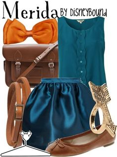 Brave, merida disneybound