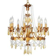 Lighting Plus, Inc. in Houston, Texas, United States,  11P4E, Chandelier, Athena, Autumn Gold