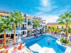 Fantastic deals on Thomas Cook holidays. Hotel Apartment, Apartments, Plaza Hotel, Great Deals, Greece, Tours, Beach, Outdoor Decor, Holidays 2017