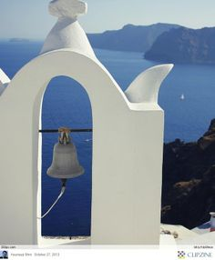 Bells tolling in santorini!   Here's The Most Stunning Pages Of Santorini…Greece