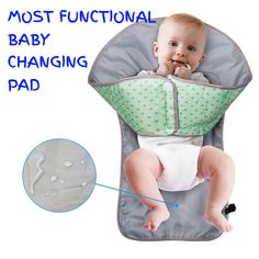 Only baby changing pad that work! Only baby changing pad that work!,Baby Products Cute little hands don't belong in dirty diapers! A changing pad with a patent-pending barrier that keeps your child's hands out. Baby Changing Mat, Diaper Changing Pad, Diaper Changing Station, Baby Kind, Baby Love, Baby Needs, Diaper Clutch, Baby Hacks, Future Baby