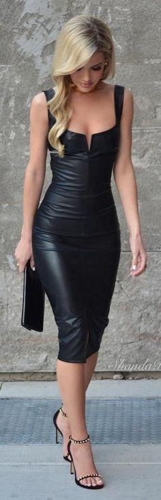 Dena''s black dress